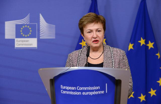 Press conference by Kristalina Georgieva, Vice-President of the EC, on a new draft EU budget for 2015
