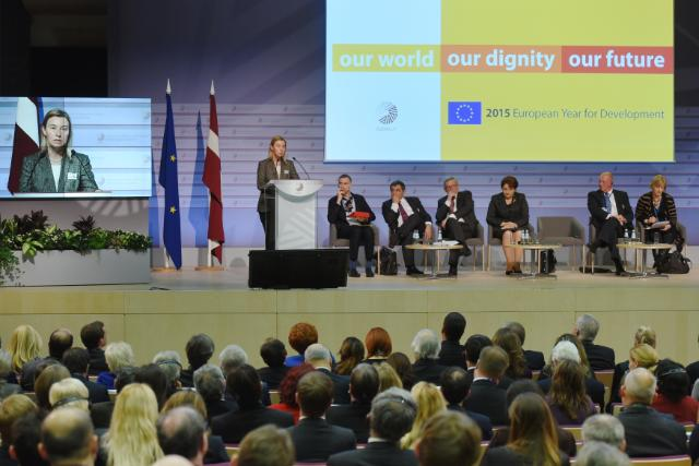 Opening of the European Year for Development 2015