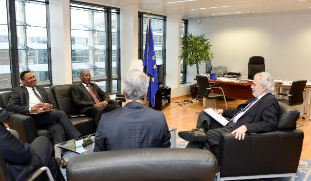 Visit of Amadou Alahoury Diallo, High Commissioner for the Initiative 3N, to the EC