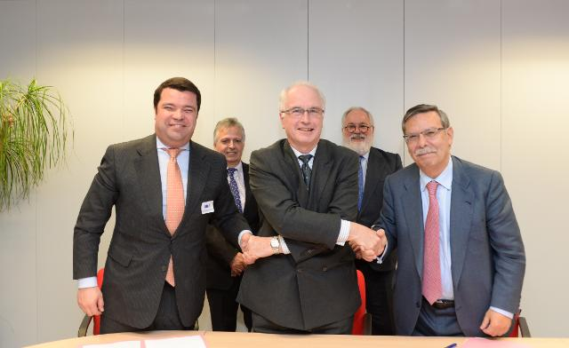 Signature ceremony of the 'Transmission System Operators' agreement