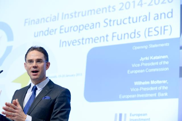 Participation de Jyrki Katainen, vice-président de la CE, et Corina Creţu, membre de la CE, à la conférence 'Instruments financiers 2014-2020: les Fonds européens structurels et d'investissement'