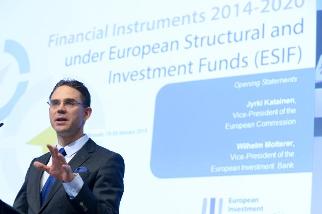 Participation of Jyrki Katainen, Vice-President of the EC, and Corina Creţu, Member of the EC, in the 'Financial Instruments 2014-2020: under European Structural and Investment Funds' conference