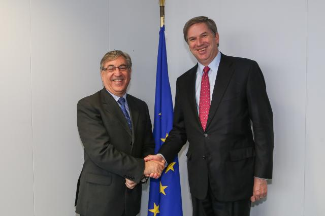 Visit of Cristián Samper, President and CEO of Wildlife Conservation for Oceans and Atmosphere, to the EC