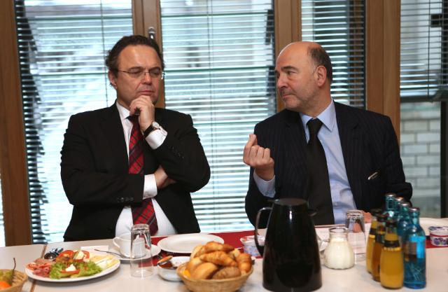 Visit of Pierre Moscovici, Member of the EC, to Germany