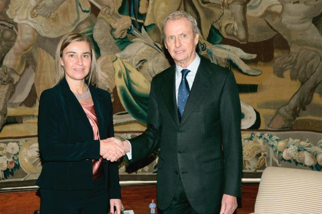 Visit of Federica Mogherini, Vice-President of the EC, to Spain