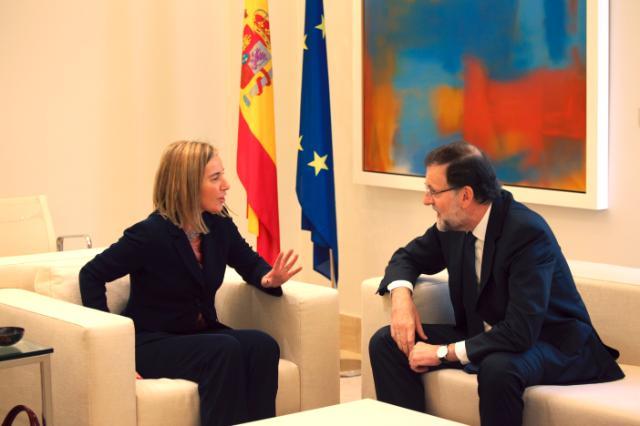 Visit of Federica Mogherini, Vice-President of the EC, to Spain