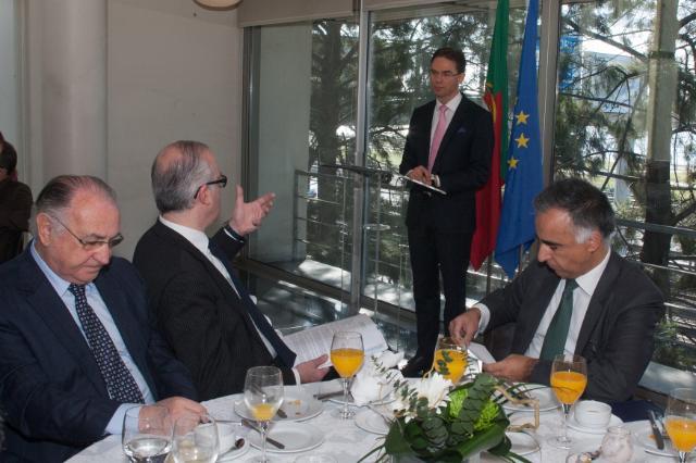 Visite de Jyrki Katainen, vice-président de la CE, et Carlos Moedas, membre de la CE, à Lisbonne