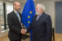 Visit of Pablo Ayesa Pascual, Director General of CENER, to the EC