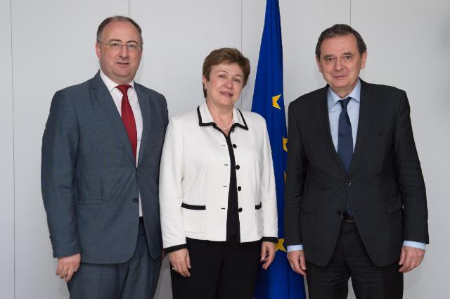 Visit of Marian-Jean Marinescu, Member of the EP and Vice-President of the European People's Party (EPP) Group at the EP, to the EC