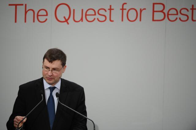 Participation de Valdis Dombrovskis au 14e Sommet économique de Munich