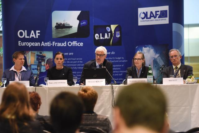 Press conference by Giovanni Kessler, Director-General of OLAF, on the OLAF Report for 2014