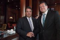 Visit of Maroš Šefčovič, Vice-President of the EC, to Germany