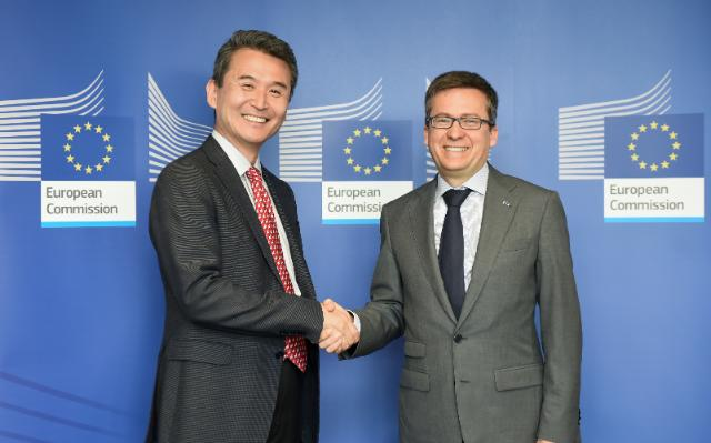 Visit of Sang Woo Kim, President of Corporate Affairs for Samsung Electronics Europe, to the EC