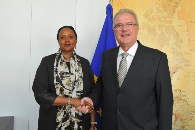 Visit of Amina Mohamed, Kenyan Cabinet Secretary for Foreign Affairs, to the EC