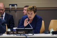Participation of Kristalina Georgieva, Vice-President of the EC, in the 70th session of the United Nations General Assembly