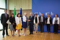 Cérémonie de signature de cinq programmes opérationnels avec l'Italie en faveur de la croissance et de l'emploi pour la période 2014-2020
