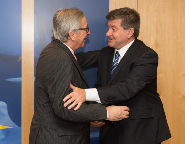 "Illustration of ""Visit of Guy Ryder, Director General of the International Labour Organisation (ILO), to the EC"""