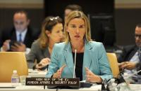 Participation of Federica Mogherini, Vice-President of the EC, in the 70th session of the United Nations General Assembly