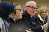 Participation of Frans Timmermans, Vice-President of the EC, and Vĕra Jourová, Member of the EC, in the first Annual Colloquium on Fundamental Rights