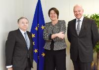 Visit of Jean Todt, President of the FIA, to the EC