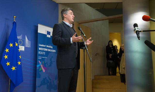 Leaders' meeting on the Western Balkans Migration Route, 25/10/2015