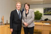 Visit of Luca Cordero di Montezemolo, Chairman of Alitalia, to the EC