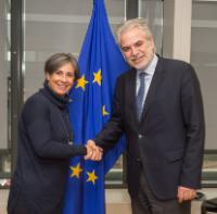 Visit of Isabel Santos, Chair of the General Committee on Democracy, Human Rights and Humanitarian Questions of the Parliamentary Assembly of the OSCE, to the EC