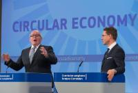 Joint press conference by Frans Timmermans and Jyrki Katainen, Vice-Presidents of the EC, on the Circular Economy Package