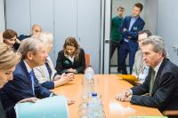 Meeting between Günther Oettinger, Member of the EC, and a high delegation from the Salzburg region