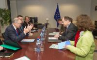 Visit of Christian Schmidt, German Federal Minister for Food and Agriculture, to the EC