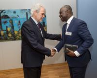 Visite d'Eugene Owusu, représentant spécial adjoint de la Mission des Nations Unies au Soudan du Sud, coordonnateur résident de l'action humanitaire et représentant résident du PNUD, à la CE