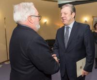 Visite de Giorgi Kvirikashvili, Premier ministre géorgien, à la CE