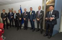 Visite de PDG d'entreprises de biocarburants de seconde génération à la CE