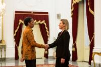 Visite de Federica Mogherini, vice-présidente de la CE, en Indonésie
