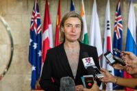 Visit of Federica Mogherini, Vice-President of the EC, to Indonesia