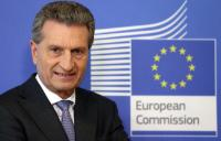 Günther Oettinger, Member of the EC in charge of  Budget and Human Resources  - Germany