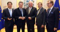 Visit of Hermann Schützenhöfer, Governor of Styria, to the EC