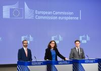 Joint press conference by Jyrki Katainen, Vice-President of the EC, and Cecilia Malmström, Member of the EC, on the treatment of China in anti-dumping investigations
