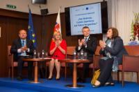 Visite de Corina Creţu, membre de la CE, en Slovaquie