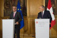 Visit of Jean-Claude Juncker, President of the EC, to Switzerland