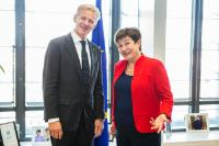 Visit of Jan Egeland, Secretary General of the Norwegian Refugee Council (NRC), to the EC