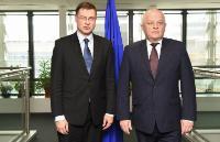 Visite de Stepan Kubiv, premier vice-Premier ministre ukrainien et ministre du Développement économique et du Commerce, à la CE