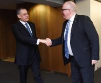 Visit of Alexandros Zenon, Permanent Secretary in the Cypriot Ministry for Foreign Affairs, to the EC