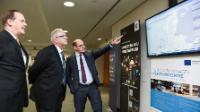 Visit of Neven Mimica, Member of the EC, to the Eurocontrol's Brussels Headquarters