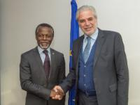 Visit of Parfait Onanga-Anyanga, United Nations Special Representative for the Central African Republic and Head of the United Nations Multidimensional Integrated Stabilization Mission in the Central African Republic (Minusca), to the EC