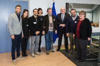 Visit of a delegation from 'Operazione Colomba' to the EC