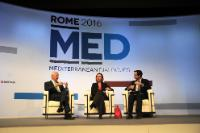 Participation de Federica Mogherini, vice-présidente de la CE, aux 'Rome 2016 MED'