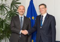 Visit of Ximo Puig, President of the Government of the Autonomous Community of Valencia, to the EC