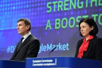 Joint press conference by Andrus Ansip, Vice-President of the EC, and Věra Jourová, Member of the EC, on Digital Single Market