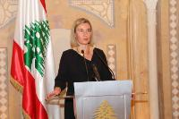 Visit by Federica Mogherini, Vice-President of the EC, to Lebanon